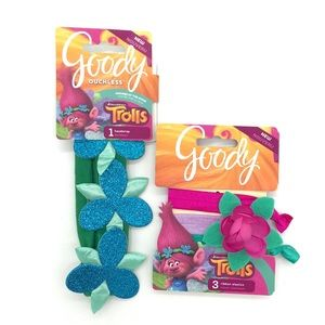 Other - Goody Trolls Ouchless Headwrap And Ribbon Elastics